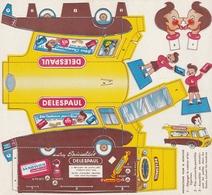 Carte à Système - Publicitaire - DELESPAUL - Camion Publicitaire à Découper Et à Plier - Advertising