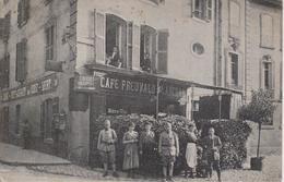 57 - METZ - RUE DU PONT DE LA PREFECTURE - CAFE FREUVALD - CARTE RARE - Metz
