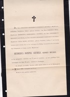 ARNHEM ARNEM Henderika GEUBELS Née MEULMAN Née à GRONINGEN 1886 77 Ans Grand Format  Complet - Overlijden