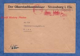 Enveloppe Ancienne - STRASSBURG / STRASBOURG - Occupation - 1944 - Der Oberbürgemeister - Elsass / Alsace Reich WW2 - Militaria