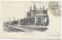 CPA 76 - Neufchatel En Bray - La Gare - Cpa Précurseur 1902 - Neufchâtel En Bray