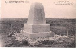 Passchendaele (1914-1918) - Monument Canadien, 85th Canadian Infantery Batallion (Nova Scotia Highlanders) B. E. F. - Zonnebeke