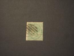 CEYLON -1872/80 REGINA  24 C.,ND A Sinistra - TIMBRATO/USED - Cayman (Isole)
