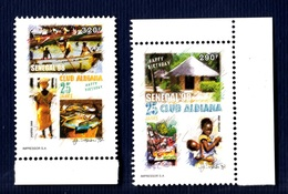 Senegal, 1998- 25 Club Aldiana, Happy Birthday. Full Issue Mint NH. - Senegal (1960-...)