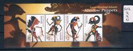 Cocos Island 2018 Shadow Puppets 4val M/s Muh AA990 - Cocos (Keeling) Islands