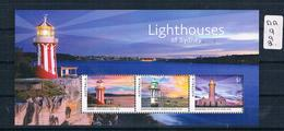 Australia 2018 Light House's 3val M/ Sheet Muh  AA992 - 2010-... Elizabeth II