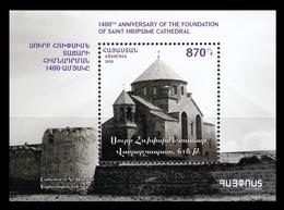 Armenia 2018 Mih. 1102 (Bl.95) Church Of Saint Hripsime In Vagharshapat MNH ** - Armenia