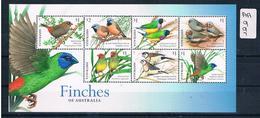Australia 2018 Special Finches 7val M/s  Muh  AA997 . - 2010-... Elizabeth II