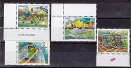Còte D'Ivoire-29.juin.2000- Le Jeux Olympique De Sydney 2000- Full Set MintNH - Costa D'Avorio (1960-...)