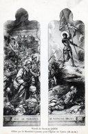 54 Crevic Vitrail De Georges Janin Offert Par Le Marechal Lyautey ( Jeanne D'Arc Guerre 1914-1918 ) Unique Sur Delcampe - France