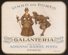 Portugal Port Wine Label - Adriano Ramos Pinto - Vinho Do Porto - Galanteria - Etiquette De Vin Porto - Collections & Sets