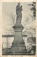 """CPA FRANCE 47 """"Lamontjoie, Statue De La Vierge"""" - France"""