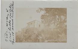 CITTADUCALE-RIETI-CARDITO DE ROSELLI-CARTOLINA  VERA FOTOGRAFIA VIAGGIATA IL 17-11-1911 - Rieti