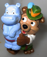 Die Top Ten Teddies In Volksfeststimmung 1996 KINDER Gustl Gluckspilz - Families