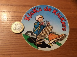 AUTOCOLLANT, Sticker * «Kick's De Kickers» - Stickers