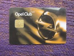Turkey Opel Club, Chip Card - Phonecards