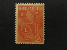 1940 - CUBA - LIONS EMBLEM - SCOTT 363 A103 2C - Cuba