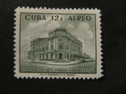 1959 - CUBA - MUSICAL ART SOCIETY - SCOTT C198 AP90 12C - Cuba