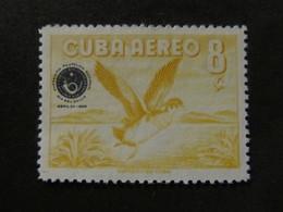 1960 - CUBA - OVERPRINTED IN DARK BLUE - SCOTT C209 AP62 10C (1) - Cuba