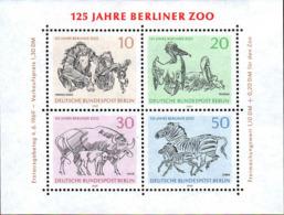 Berlin Bloc N** Yv:2 Mi 2 Yv:3,5 Euro 125.Jahre Berliner Zoo - [5] Berlin