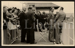 Postcard / ROYALTY / Belgique / België / Roi Leopold III / Koning Leopold III / Circuit Spa-Francorchamps / 1937 - Sport Automobile