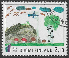 Finland SG1297 1992 75th Anniversary Of Independence 2m.10 Good/fine Used [39/31792/6D] - Finland