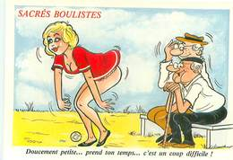 Illustrateur Alexandre - Serie Sacrés Boulistes Petanque  W 377 - Alexandre