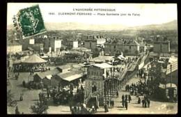 CLERMONT-FERRAND - 1844 : Place Gambetta  (jour De Foire) - (plan Très Animé) - Clermont Ferrand