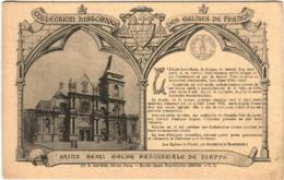51et 938 CPA - COLLECTION HISTORIQUE DES EGLISES DE FRANCE - DIEPPE - SAINT REMI EGLISE PAROISSIALE - Dieppe