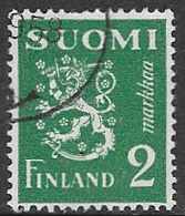 Finland SG373a 1945 Definitive 2m Good/fine Used [39/31795/6D] - Finland