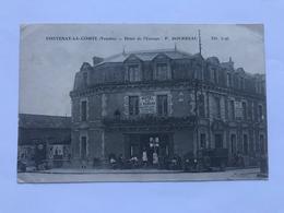 FONTENAY-LE-COMTE — Hôtel De L'Europe - P. BOURREAU - Fontenay Le Comte