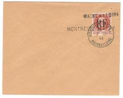 11960 - Libération MONTREUIL BELLAY - Marcophilie (Lettres)