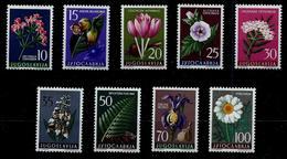 Yugoslavia 1957: Yugoslavian Flora (II). MH (*) - 1945-1992 Repubblica Socialista Federale Di Jugoslavia