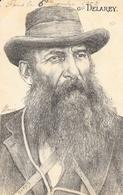 Général Koos De La Rey (Delarey, Guerre Des Boers) - Illustration Orens - Carte Dos Simple 1902 - Orens