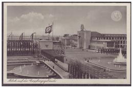 Dt-Reich (007416) Propaganda, Reichsausstellung Düsseldorf, Schlageterstadt 1937, Schaffendes Volk, Blanco Gsetempelt - Deutschland
