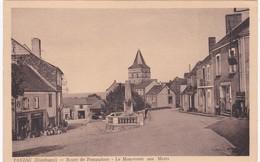 24 Dordogne - PAYZAC - Route De Pompadour - Le Monument Aux Morts - Débit De Tabac - Frankreich