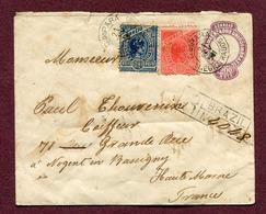 PARA Do BRAZIL : LETTRE RECOMMANDEE  1901 Pour NOGENT-EN-BASSIGNY - Brésil