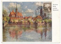 ALLEMAGNE - Carte Spéciale BRESLAU - Oblit Temporaire 1937 - Allemagne