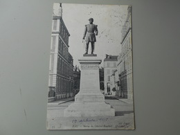 PYRENEES ATLANTIQUES PAU STATUE DU GENERAL BOURBAKI - Pau