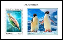 GUINEA BISSAU 2018 **MNH Antarctica Animals Tiere Der Antarktis Antarctique Animaux S/S - OFFICIAL ISSUE - DH1851 - Faune Antarctique