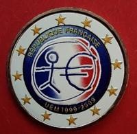 FRANCE 2009 - E.M.U.  - 2 EUROS COMMEMORATIVE COULEUR - FARBE - COLORED - COLOR - RARE AVEC LE TOUR BLANC - France