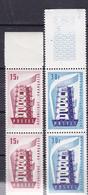 N° 1076 Et 1077 Europa 1956 Série En Paires De 2 Timbres Neuf Impeccable - Unused Stamps
