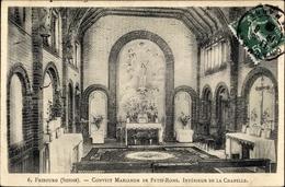 Cp Fribourg Freiburg Stadt Schweiz, Convict Marianum De Petit Rome, Intérieur De La Chapelle - FR Fribourg