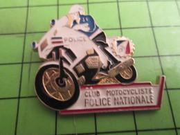 811J Pin's Pins / Rare & De Belle Qualité : THEME MOTOS / CLUB MOTOCYCLISTE POLICE NATIONALE Voltigeurs-tueurs De Malik - Motos