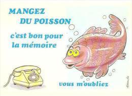 CPM - ILLUSTRATION ALEXANDRE - Série Mangez Du Poisson - Edition LYNA Paris  / N°966 - N°5 - Alexandre