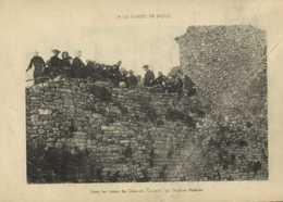 A LA GARDO DE DIOUS (Severac Le Chateau) Dans Les Ruines Du Chateau Causerie Du Docteur Molinié RV - Autres Communes