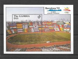 Gambie Bloc Stade JO 92 ** - Estate 1992: Barcellona