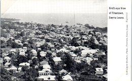 AFRIQUE --  SIERRA LEONE -- Bird's-eye View Of Freetow N - Sierra Leone