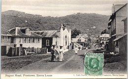 AFRIQUE --  SIERRA LEONE -- Regent Road Freetown - Sierra Leone