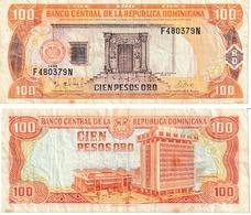 Rep. Dominicaine 100 Pésos Oro - Dominicana